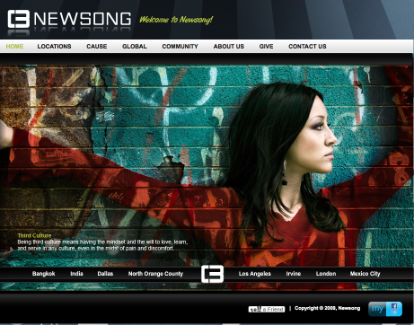 Newsong's Website - Check it out