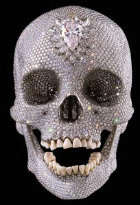 """Damien Hirst's """"For The Love of God"""""""