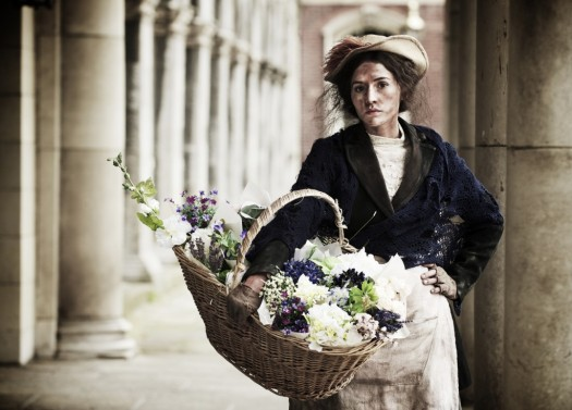 Charlie Murphy as Eliza Dolittle in The Abbey Theatre's recent production