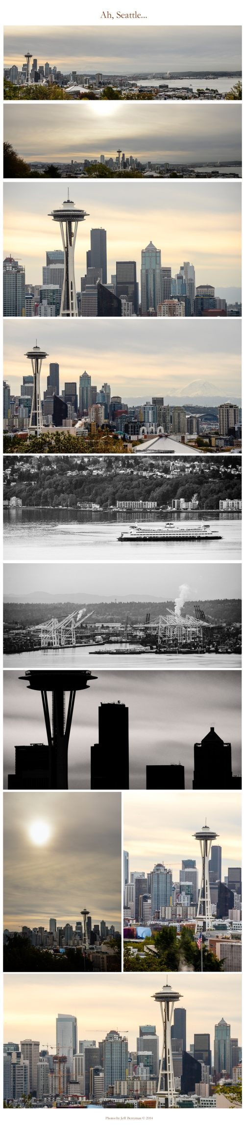 Seattle Skyline Collage