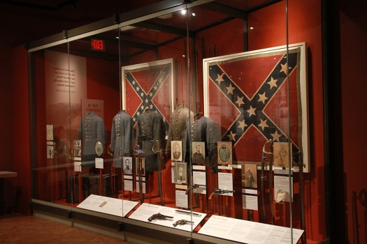 Battle Flag in Museum
