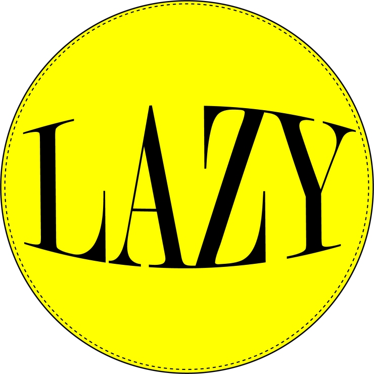 LAZY STICKER